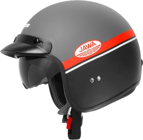 Otevřené helmy bez plexi
