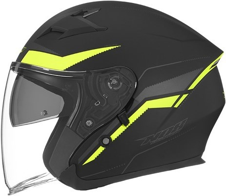 Otevřené helmy s plexi