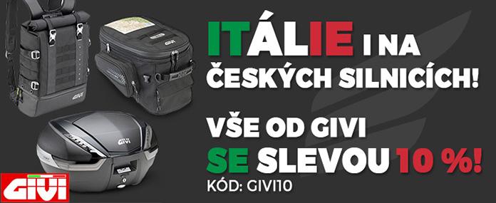Itálie i na českých silnicích
