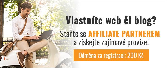 Staňte se affiliate partnerem